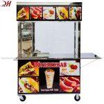 Xe Bánh Mì Doner Kebab Mẫu Mới 1M5 QH-M150