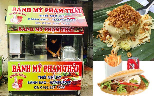 Lợi ích 2 trong 1 đến từ chiếc xe xôi bán bánh mì Quang Huy
