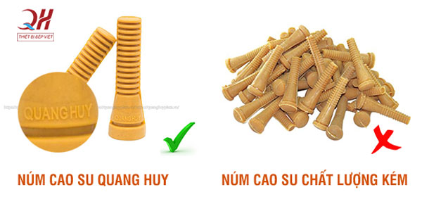 Núm cao su máy vặt lông gà vịt Quang Huy