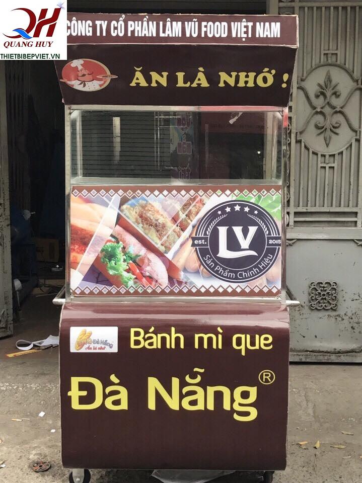 Mẫu xe bánh mì que tại Quang Huy