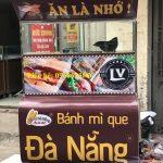 Mẫu xe bánh mì que đà nẵng tại Quang Huy