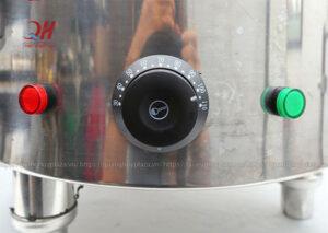 Hệ thống nút nguồn + dải nhiệt độ nồi điện nấu phở