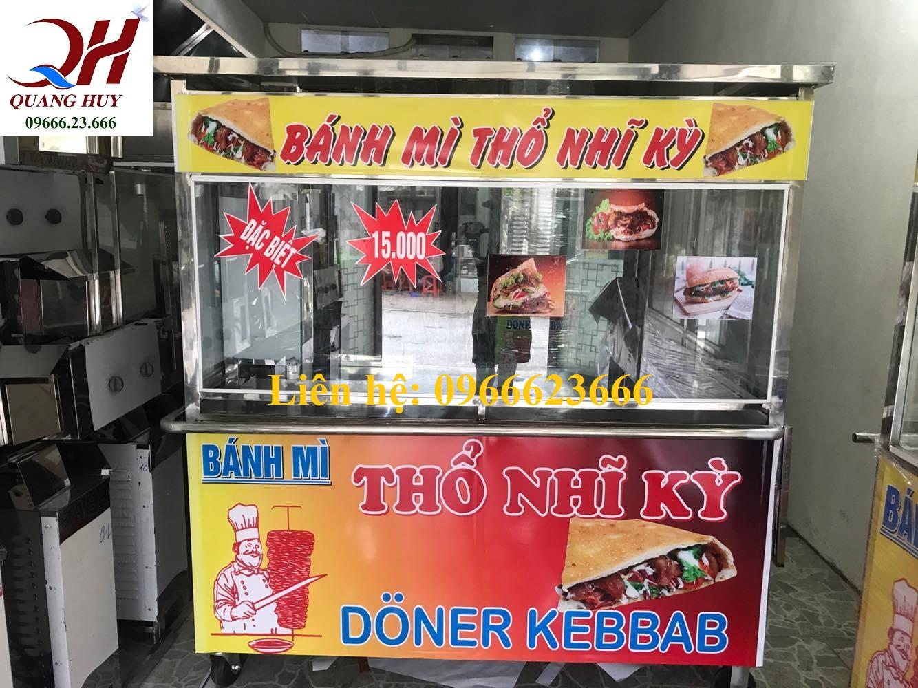 Xe bánh mì doentr kebab cỡ lớn