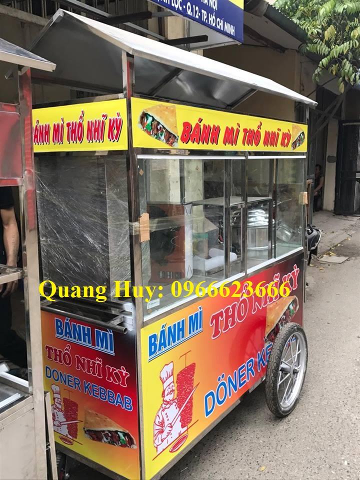 mẫu xe bánh mì Doner kebab 3