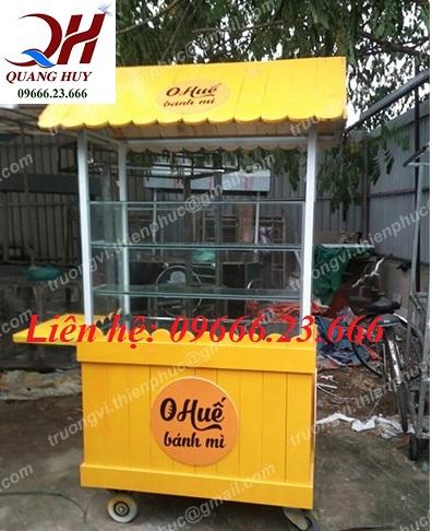 Xe bánh mì que tại Thái Bình