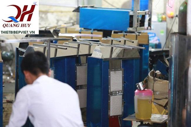 Sản phẩm của Quang Huy được sản xuất tỉ mỉ, chi tiết