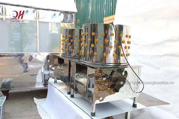 Máy vặt lông gà vịt Quang Huy giá tốt
