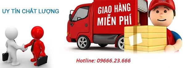 Quang Huy có nhận giao hàng miễn phí