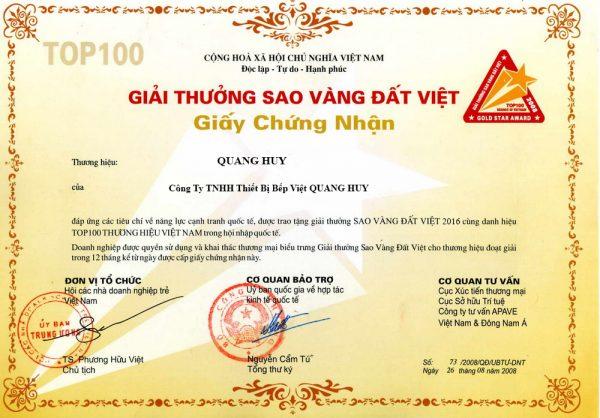 Quang Huy là công ty hàng đầu về thiết bị bếp