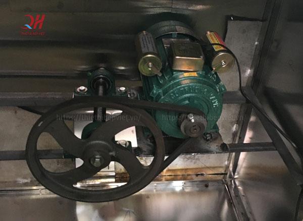 Motor máy vặt lông dê Quang Huy