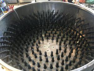 Núm cao su máy vặt lông dê Quang Huy