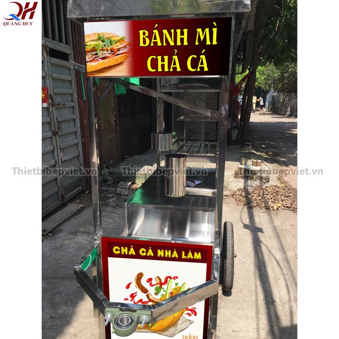 Xe bánh mì chả cá của Quang Huy sẽ là cửa hàng di động đầy đủ tiện nghi cho bạn