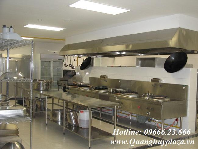Tủ cơm công nghiệp được sử dụng trong những không gian khá sang trọng