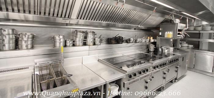 Được sử dụng nhiều tại các bếp ăn công nghiệp lớn, hiện đại