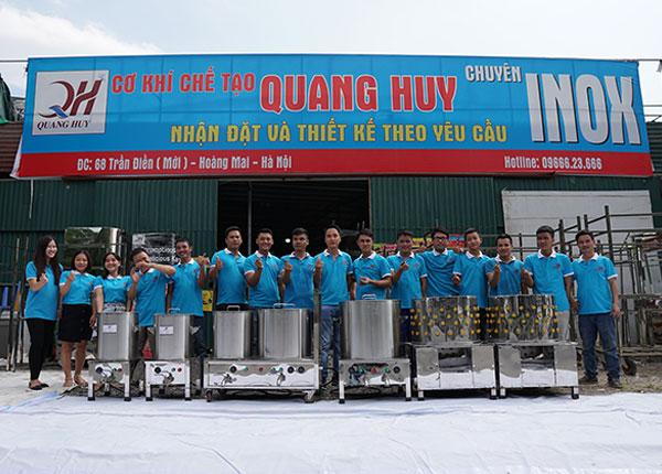 Xưởng cơ khí chế tạo Quang Huy