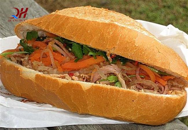 Bánh mì thịt sẽ không ngon vì nướng nhiệt độ không đạt chuẩn