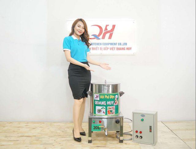 Quang Huy địa chỉ phân phối nồi điện 20 lít inox 304 tốt nhất