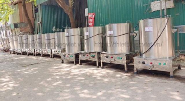Nồi nấu phở điện hàng Việt Nam do Quang Huy sản xuất