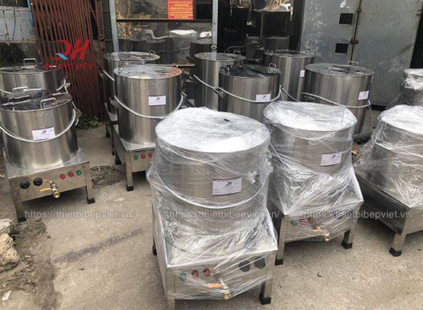 Xưởng sản xuất nồi nấu phở bằng điện Quang Huy
