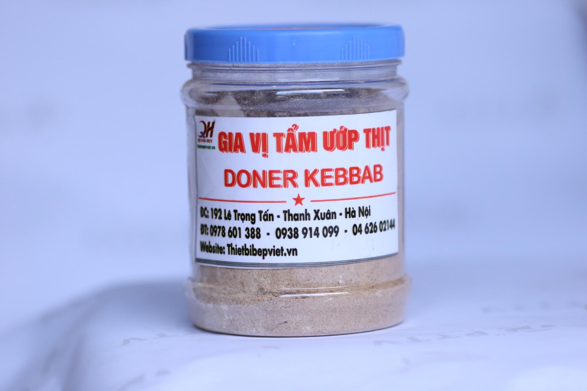 Gia vị ướp thịt Doner Kebab nhập khẩu Đức