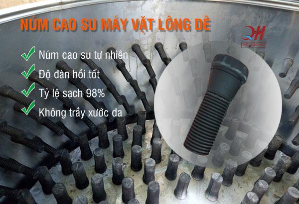 Núm Cao Su Máy Vặt Lông Dê, Chó