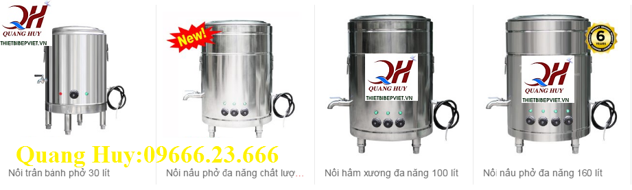 Bộ nồi nấu phở Quang Huy đang bày bán