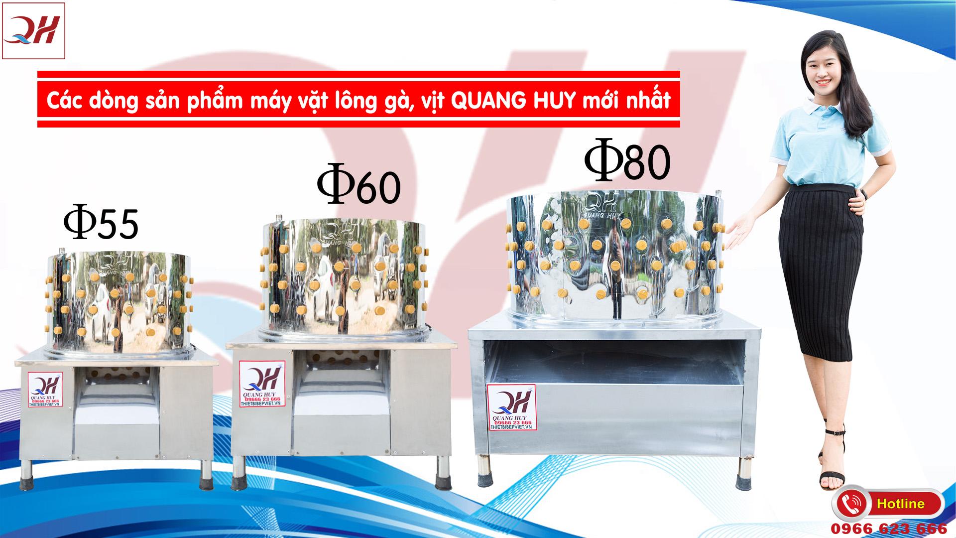 Quang Huy là cơ sở hàng đầu cung cấp máy vặt lông gà