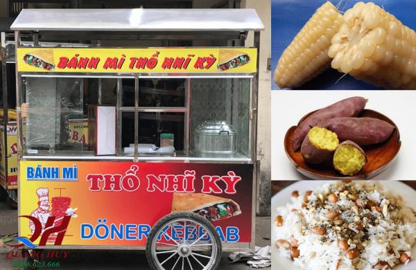 Các mặt hàng có thể kinh doanh trên xe xôi bán bánh mì Thổ Nhĩ Kỳ