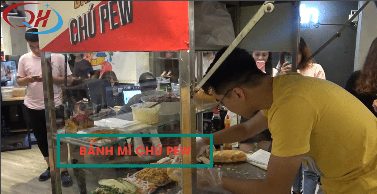 Tiệm bánh mì chú pew nổi tiếng