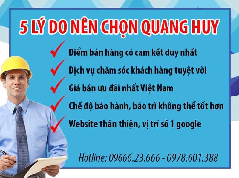 Những ưu đãi tuyệt vời khi lựa chọn mua sản phẩm tại Quang Huy