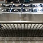 Tủ giữ nóng thức ăn 10 khay có kính