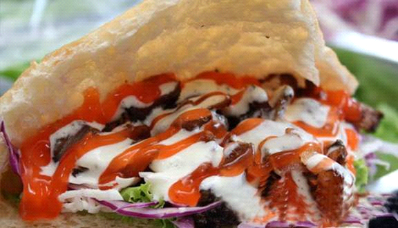 Công thức làm bánh mỳ doner kebab