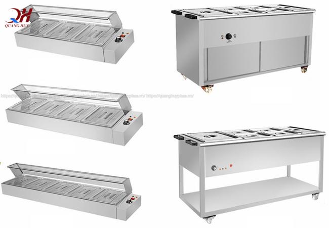 Có nhiều loại tủ giữ nóng khác nhau cho bạn lựa chọn