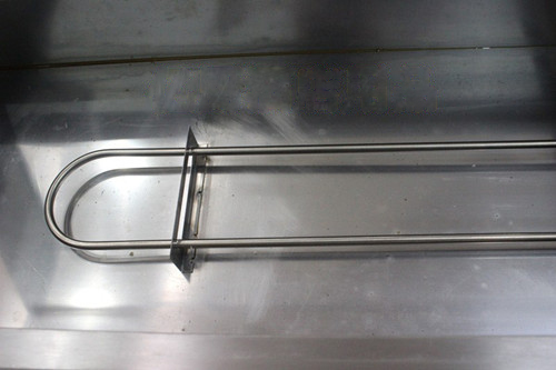 tủ giữ nóng thức ăn 8 khay có kính