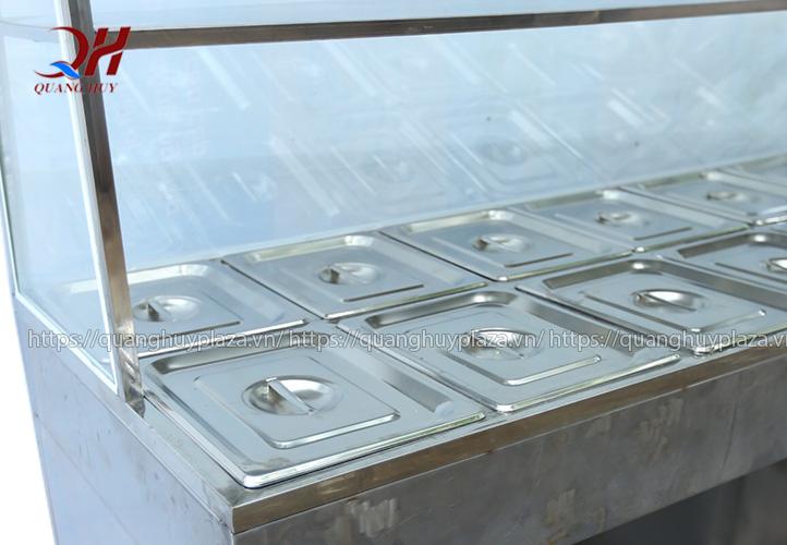 Tủ giữ nóng thức ăn sẽ là điểm nhấn cho cửa hàng của bạn