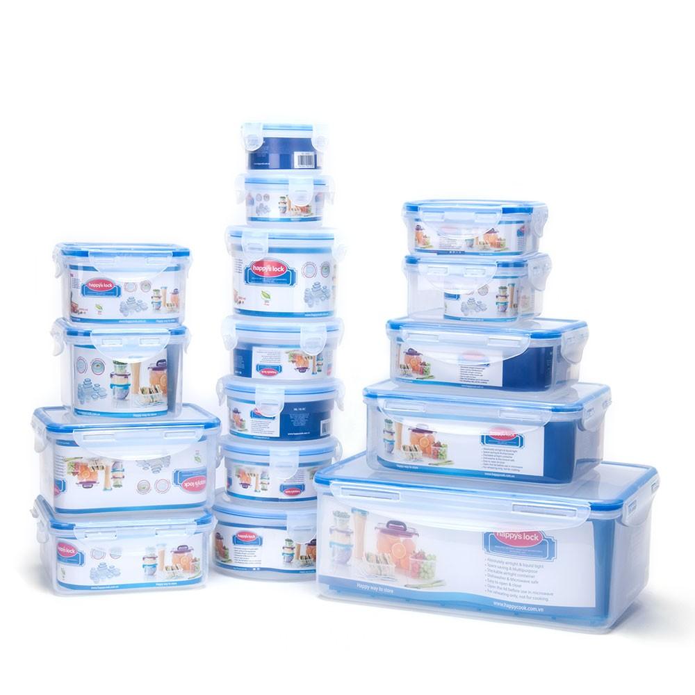 Bạn có thể sử dụng hộp nhựa để bảo quản thực phẩm