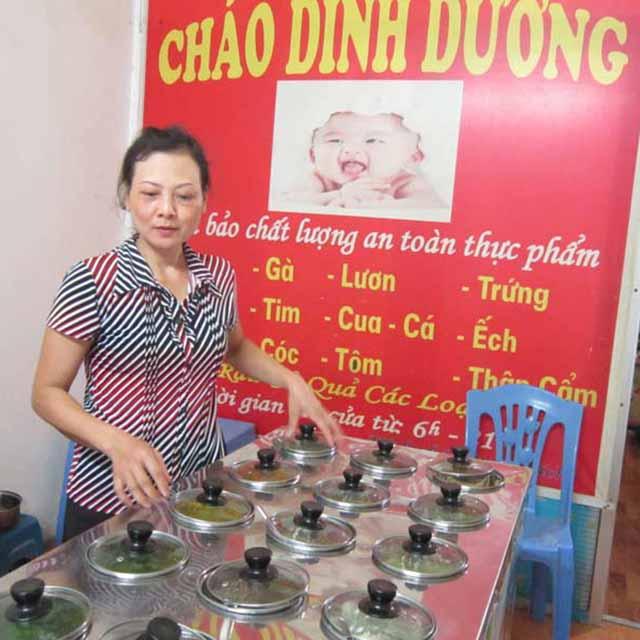 Khách hàng mua nồi nấu cháo Quang Huy, phản hồi của khách hàng với nồi cháo Quang Huy