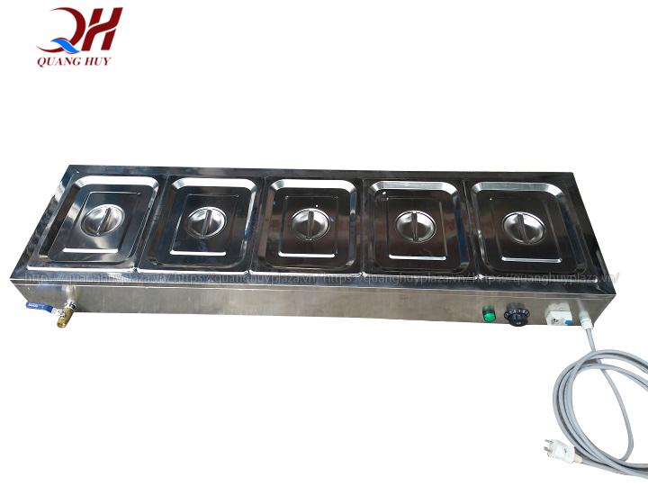 Tủ giữ nóng thức ăn được trang bị hệ thống điều chỉnh nhiệt thông minh