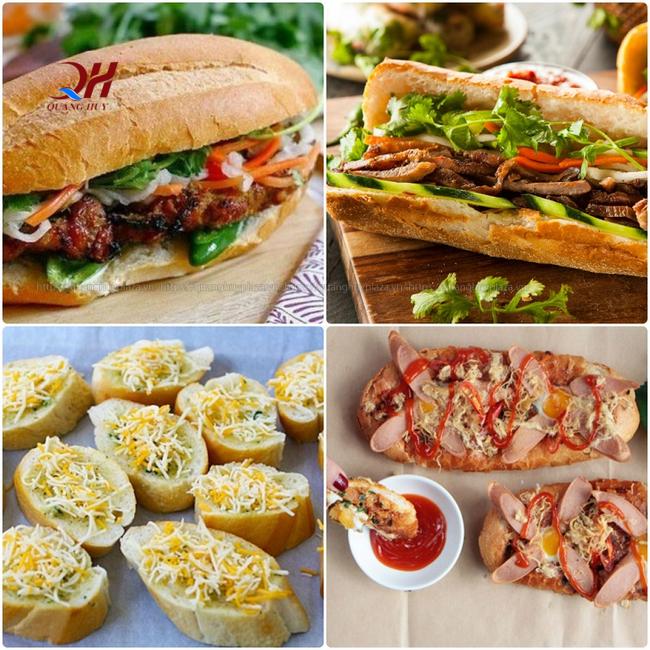 Có rất nhiều kiểu kinh doanh bánh mì cho bạn lựa chọn