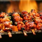 Bạn nướng thịt với nhiệt độ vừa phải