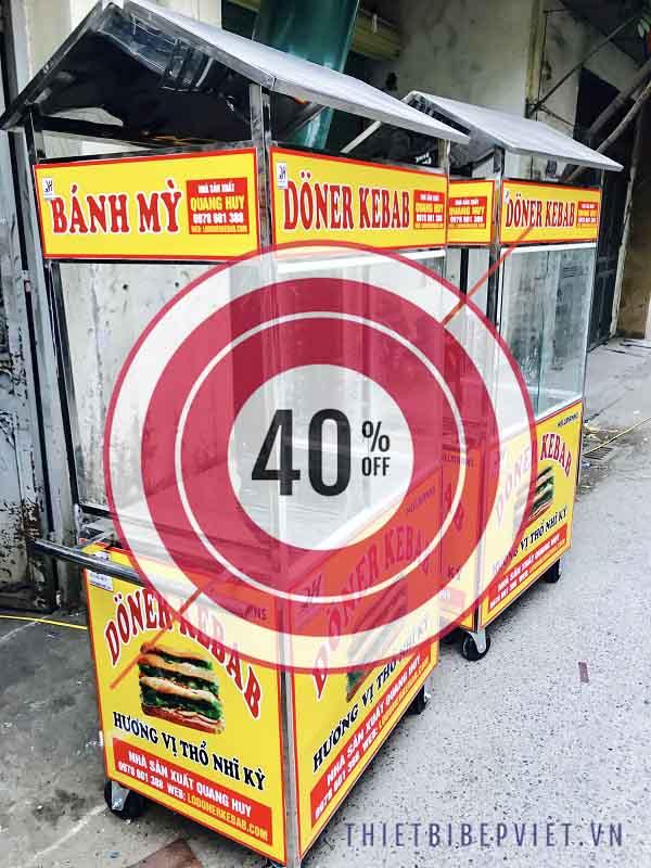 Thanh lý xe bánh mì giảm giá tới 40%