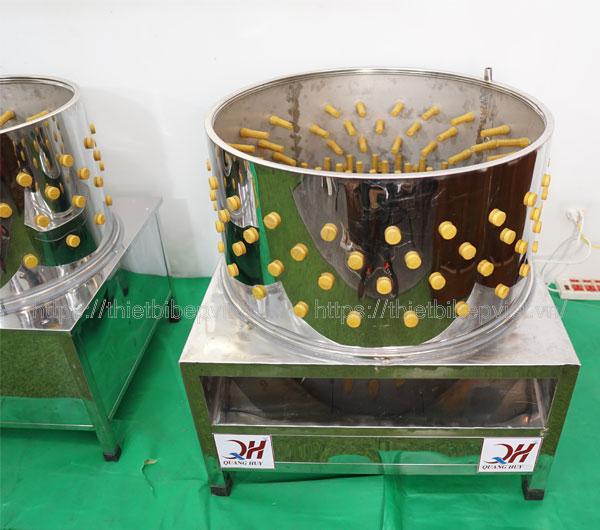 Gia công máy làm lông gà vịt tại xưởng Quang Huy chất lượng hàng đầu