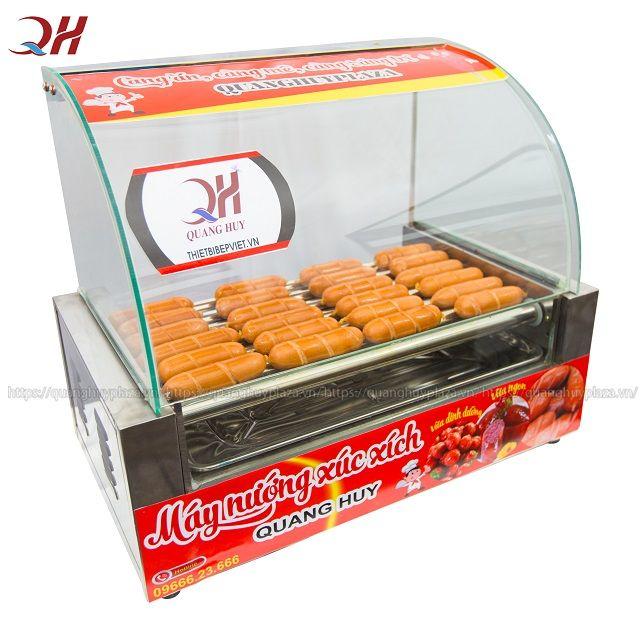 Máy nướng xúc xích 7 thanh QH-007