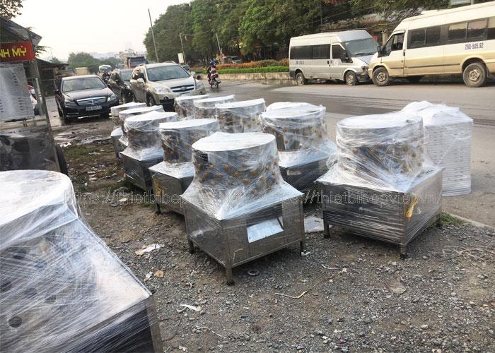 Xưởng sản xuất máy nhổ lông gà vịt Quang Huy uy tín chất lượng hàng đầu