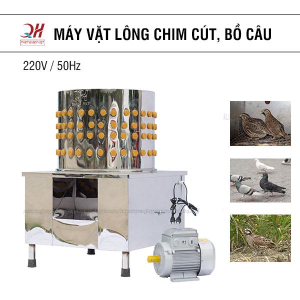 Máy vặt lông chim cút chim câu Quang Huy