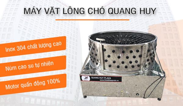 Máy vặt lông chó Quang Huy