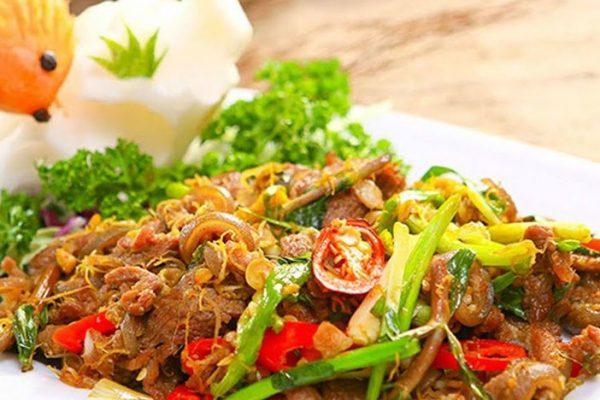 Thịt dê xào lăn món ăn ngon tốt cho sức khỏe