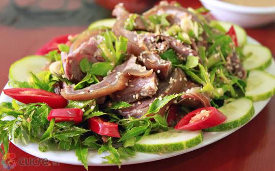 Điểm danh các món ăn ngon chế biến từ thịt dê