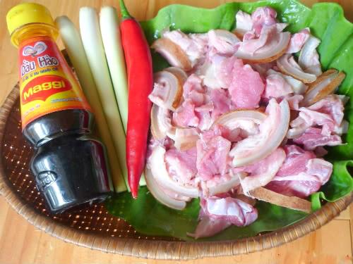 cách nấu món thịt thỏ xào lăn