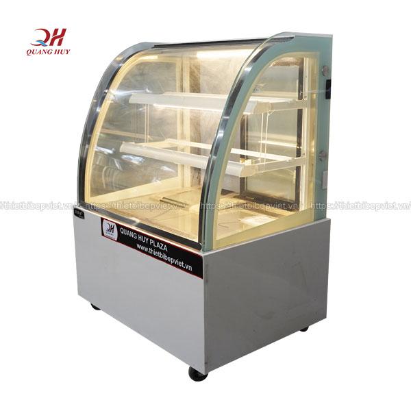 Tủ trưng bày và bảo quản bánh kem 3 tầng 2 khay